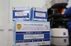 Le premier lot de kits de dépistage du SARS-CoV-2 exporté vers l'Ukraine et la Finlande