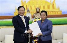 Félicitations des 65 ans de la naissance du Parti populaire révolutionnaire lao