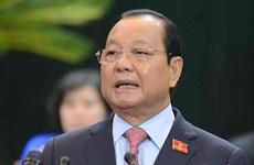 Sanctions disciplinaires à l'encontre d'anciens dirigeants de Ho Chi Minh-Ville