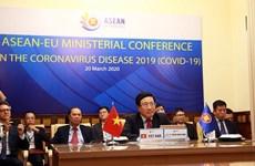 L'ASEAN et l'UE renforcer la coopération dans la lutte contre la pandémie de COVID-19