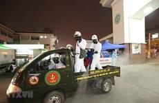 L'hôpital Bach Mai est désinfecté après sa mise en quarantaine
