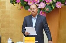 Coronavirus : le PM demande de répondre à la crise à grande échelle