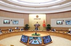 Le PM préside une séance de travail sur la lutte contre l'épidémie de coronavirus