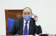 Conversation téléphonique entre les PM vietnamien et chinois