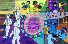 Plus de 1.000 peintures d'enfants pour la lutte contre le COVID-19