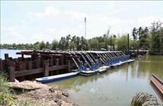 L'intrusion salée dans le delta du Mékong sera à un haut niveau en avril