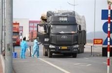 Quang Ninh : Favoriser l'import-export au poste frontalier de Mong Cai