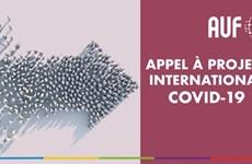 AUF : un appel international pour soutenir les initiatives liées à la pandémie