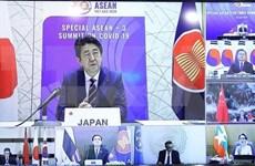 Le Japon salue l'importance de renforcer la coopération de l'ASEAN + 3 dans la lutte anti-COVID-19