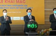 Ouverture d'une foire du livre dans un espace virtuel au Vietnam