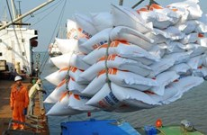 Les exportateurs de riz peuvent obtenir une avance sur leur quota