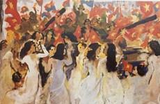 Exposition d'art en ligne pour célébrer la grande victoire du Printemps 1975