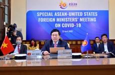 ASEAN 2020 : le Vietnam s'engage à œuvrer avec le monde contre le COVID-19