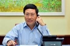 Le Vietnam et l'Estonie discutent du CSNU et du COVID-19
