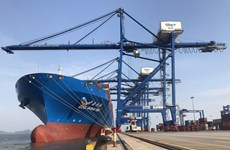 Le port maritime international de Hai Phong accueille un porte-conteneur de 120.000 tonnes
