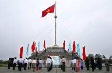 Quang Tri hisse le drapeau de la réunification nationale sur Hiên Luong
