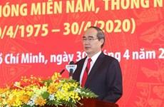 Hô Chi Minh-Ville fête les 45 ans de libération du Sud et de réunification nationale