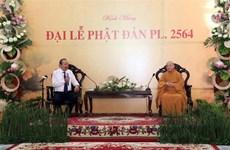 Le vice-PM Truong Hoa Binh adresse ses félicitations aux fidèles bouddhistes