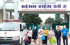 COVID-19: Quang Ninh crée l'hôpital de campagne N ° 3