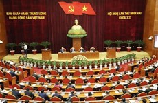 Le 12e Plénum du Comité central du Parti s'ouvre à Hanoi