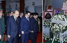 Le Vietnam adresse ses condoléances au Laos pour le décès de l'ancien Premier ministre