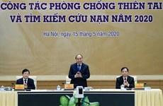 Le PM préside une conférence nationale sur la lutte contre les catastrophes naturelles