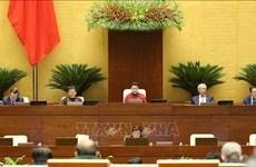 Premier jour de travail de la 9e session de l'AN (XIVe législature)