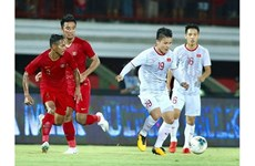 L'équipe vietnamienne est le plus grand adversaire dans la course pour remporter la Coupe AFF