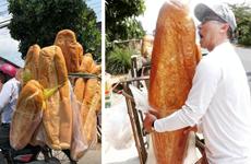 Les banh mi géants d'An Giang loués par les médias étrangers