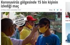 Qu'ont dit les médias internationaux sur la reprise du championnat vietnamien de football?
