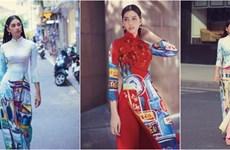 """Le """"ao dài"""" vietnamien s'inspire des patrimoines et des paysages"""