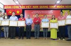 La Croix-Rouge de Ho Chi Minh-Ville rend hommage à des donneurs de sang exceptionnels