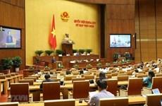 L'AN adopte une résolution et discute de deux projets de loi