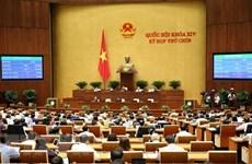 9e session de l'AN : adoption de deux résolutions et d'une loi