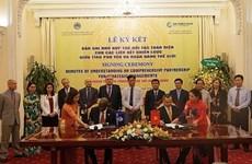 Phu Yen signe un protocole d'accord avec la Banque mondiale