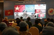 Les Casques bleus vietnamiens font le point sur la prévention du COVID-19
