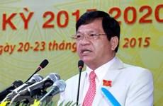 Sanction disciplinaire à l'encontre d'un dirigeant de Quang Ngai