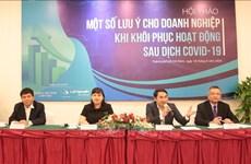 Les entreprises cherchent à s'adapter à de nouvelles méthodes de commerce après COVID-19