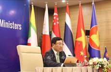 ASEAN : les dirigeants discutent d'importants contenus de coopération
