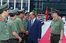 Le PM apprécie les réalisations des forces de la Police populaire