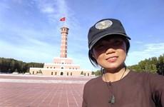 Une jeune fille marche à travers le Vietnam pour tester ses limites