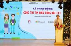 Concours d'études sur le central téléphonique national pour la protection de l'enfance - 111