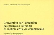 Le PM approuve le plan d'exécution de la Convention de La Haye de 1970