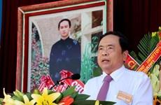 Le président du FPV envoie ses salutations aux fidèles bouddhistes de Hoa Hao