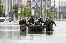 Sympathie envers le Japon suite aux pertes dues aux pluies torrentielles