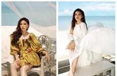 Des Miss et des stylistes promeuvent le tourisme en toute élégance