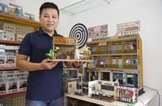 """""""Le monde miniature"""", une boutique unique au Vietnam"""