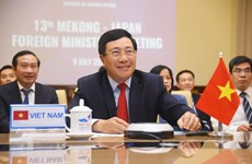 La 13e Conférence ministérielle Mékong-Japon discute de la réponse au Covid-19