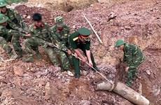 Des ONG américaines soutiennent le déminage à Quang Tri