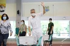 Félicitations au PM singapourien Lee Hsien Loong pour la victoire électorale du PAP